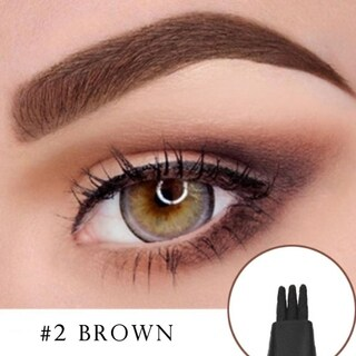 M.B.S Waterproof Microblading Liquid Eyebrow Pen Brown