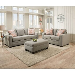 Simmons Upholstery Miramar Ash Queen Sleeper Sofa