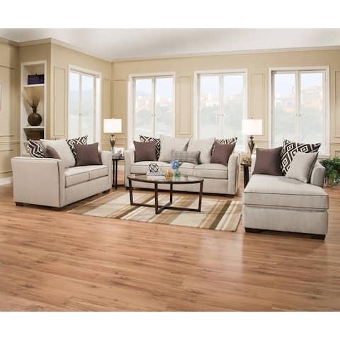 Simmons Upholstery Stewart Queen Sleeper Sofa