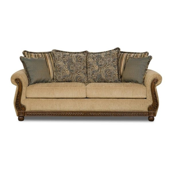 Simmons Upholstery Outback Antique Sofa