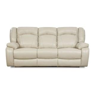Simmons Upholstery  Yahtzee Pearl Power Double Motion Sofa