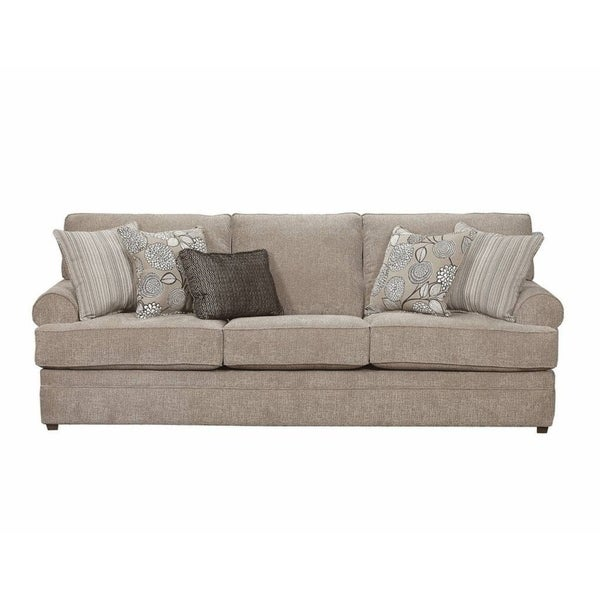Simmons Upholstery Macey Pewter Sofa