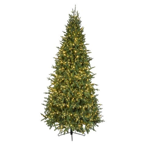 Forever Tree 7.5' Slim Canadian Balsam Fir w Remote (8 Functions)