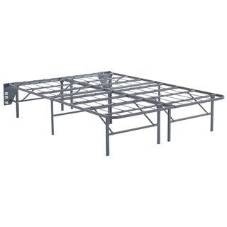 Shop Better Than A Boxspring Gray Queen Riser Free Shipping Today Overstock 22635375