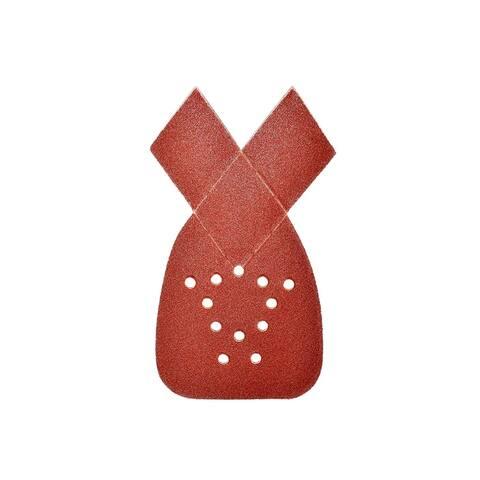ALEKO Mouse Sandpaper 80 Grit Sheets With 12 Holes 10 Pieces