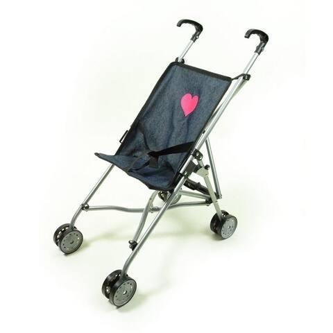 Single Doll Travel stroller Denim