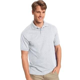 Hanes mens 50/50 ComfortBlend® EcoSmart® Jersey Knit Polo (054)