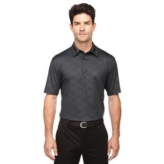 Ash City - North End mens Maze Perf Stretch Embossed Print Polo (88659)