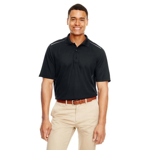 Ash City - Core 365 mens Radiant Performance Piqué Polo with Reflective Piping (88181R)