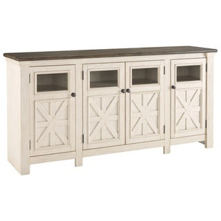Bolanburg Casual Extra Large TV Stand Two-tone