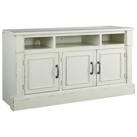 Blinton Casual TV Stand Antique White