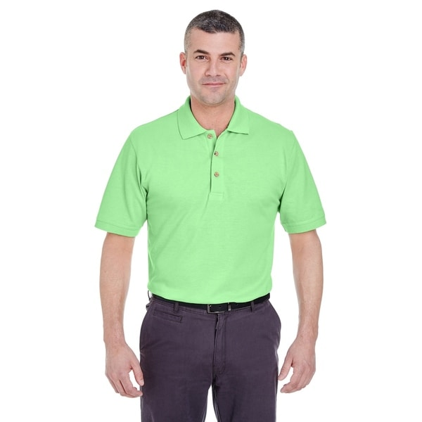 UltraClub mens Classic Pique Polo (8535)