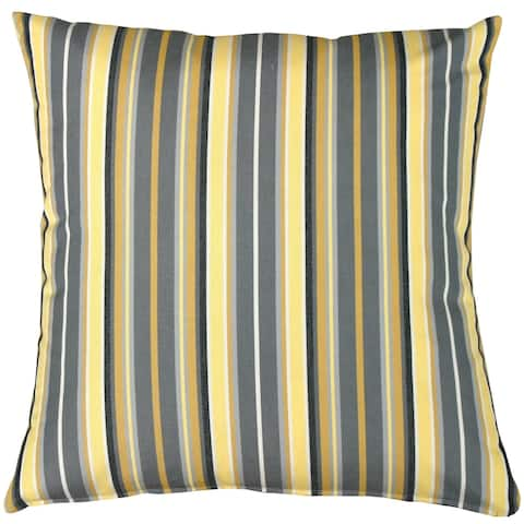 Pillow Decor - Sunbrella Foster Metallic 20x20 Outdoor Pillow