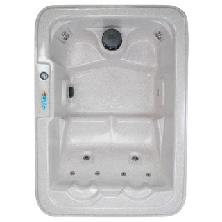 Model 1 SR - Salt Lake 4-Person Plug and Play 10-Jet Spa with Ozonator, LED Light, Polar Insulation and Hard Cover