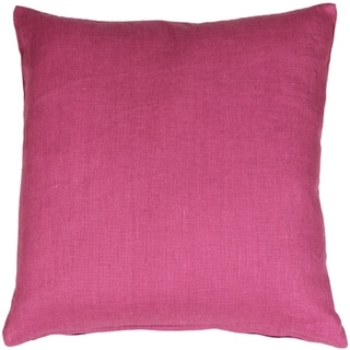Pillow Décor - Tuscany Linen Orchid Pink 20x20 Throw Pillow