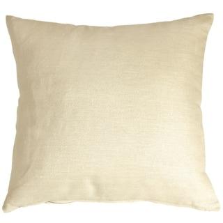 Pillow Décor - Tuscany Linen Cream 20x20 Throw Pillow