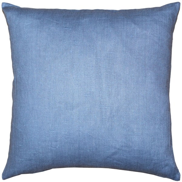 Pillow Décor - Tuscany Linen Pacific Blue 20x20 Throw Pillow