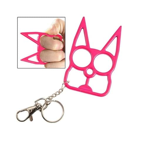 F.S.D Self Defence Cat Keychain