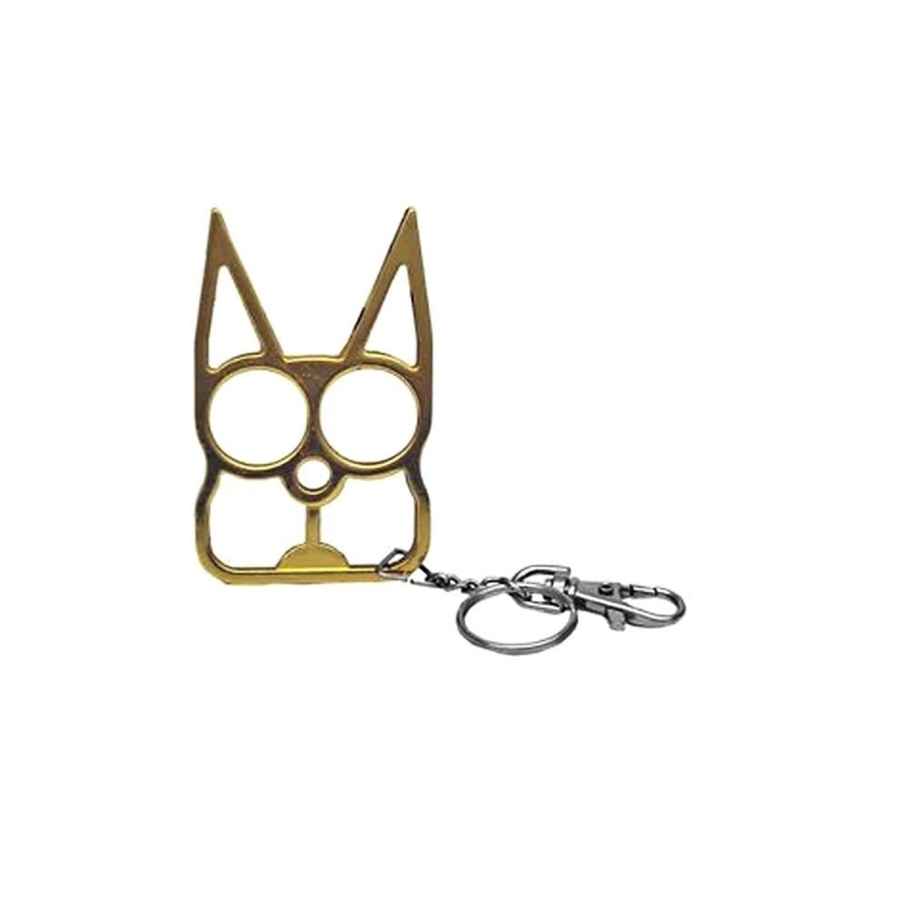 Shop F S D Self Defence Cat Keychain On Sale Overstock 22638973