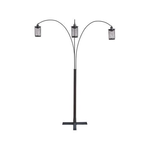 Maovesa Arc Lamp with 3 Lights - Bronze