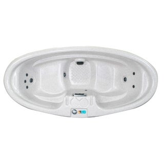 Model 0 SR - Aspen 2-Person Plug and Play 8-Jet Spa with Dual-Level Seating and Hard Cover