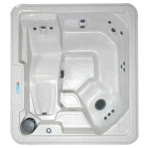 QCA Spas - Steamboat Springs 5-Person Plug & Play 30-Jet Spa with Hard Cover