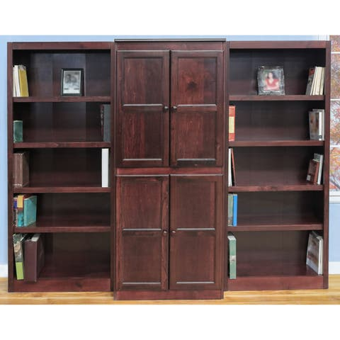 Concepts In Wood Wkt3072 3 Piece Wall And Storage System 15 Shelves