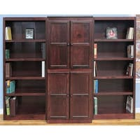 Concepts in Wood WKT3072 3-Piece Wall and Storage System, 15 Shelves