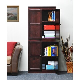 Concepts in Wood KT613B-3072 Multi-use Storage Cabinet, 5 Shelves