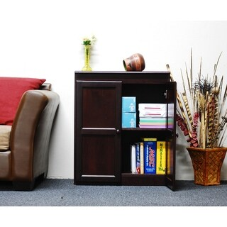 Concepts in Wood KT613C-3036 Multi-use Storage Cabinet, 2 Shelves