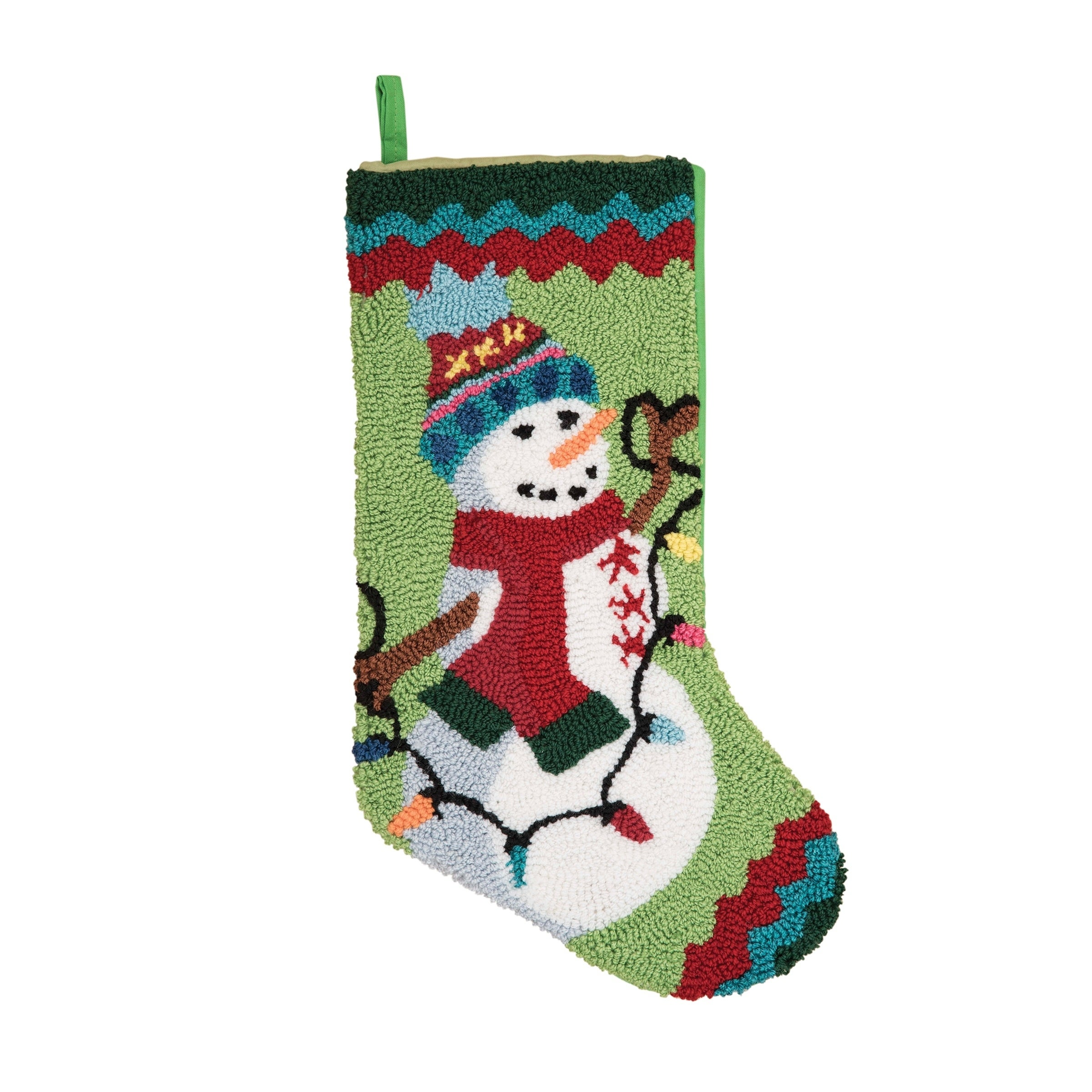 20 Brightly Coloured Christmas Stocking with Snowman Wooden Buttons FREE P/&P