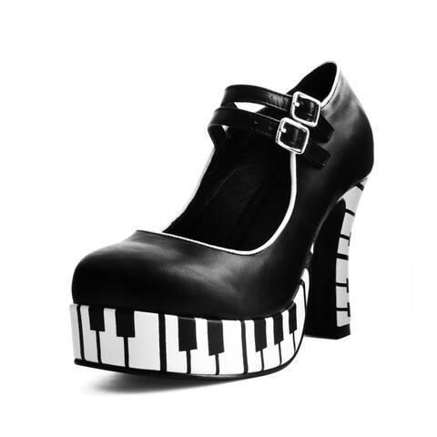 T.U.K. Shoes Womens Heels, Piano Platform Heel