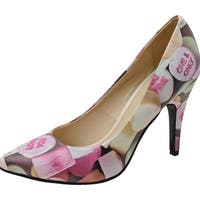 T.U.K. Shoes Womens Heels, Candy Hearts Pointed Heel