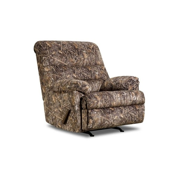 Simmons Upholstery Conceal Camo Rocker Recliner