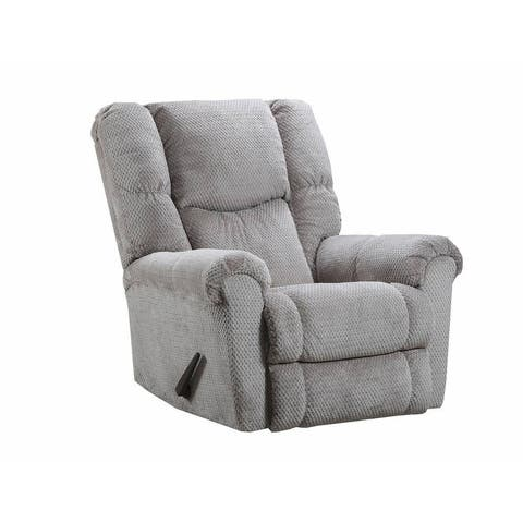 Simmons Upholstery Symphony Stone Power Rocker Recliner