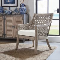 OSP Designs Plantation Lounge Chair with Cushion
