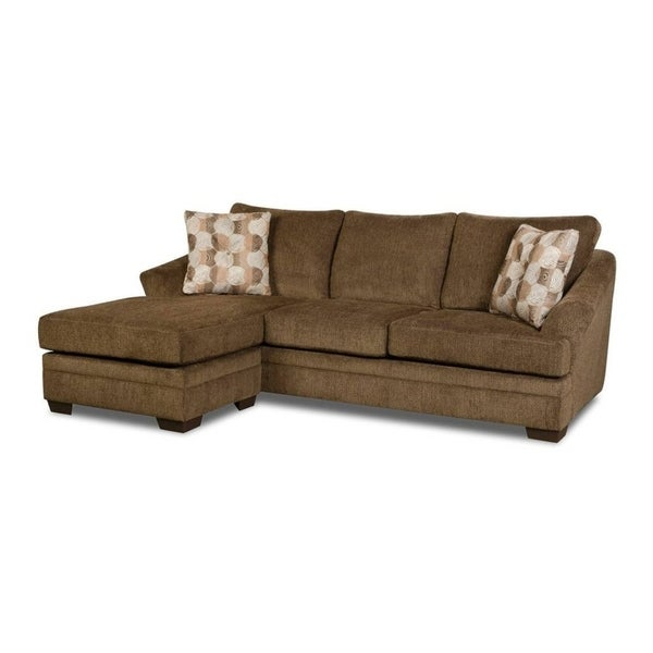 Shop Simmons Upholstery Albany Sofa Chaise On Sale