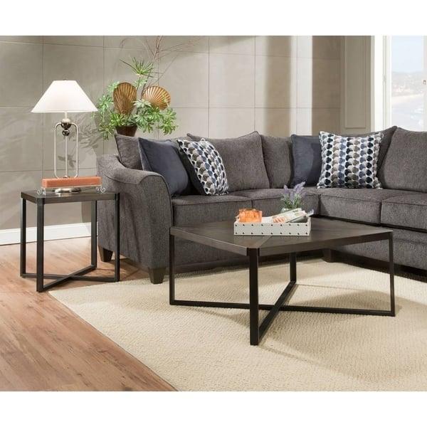 Groovy Simmons Upholstery Albany Slate Sectional Ibusinesslaw Wood Chair Design Ideas Ibusinesslaworg