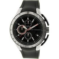 269d01d27579 Shop Armani Exchange Unisex AX1326  Active  Chronograph Black ...