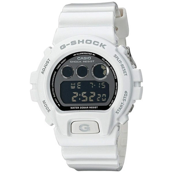 95b3f75a843e Shop Casio Men s  G-Shock Metallic Limited Edition  Digital White Resin  Watch - Free Shipping Today - Overstock - 22639377