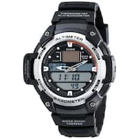 Casio Men's  'Outgear' Analog-Digital Black Resin Watch