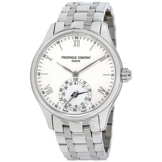 Frederique Constant Men's 'Horological Smartwatch' Stainless Steel Watch