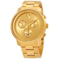 47b281ef5 Shop Movado Men's 3600276 'Bold' Chronograph Stainless Steel Watch ...