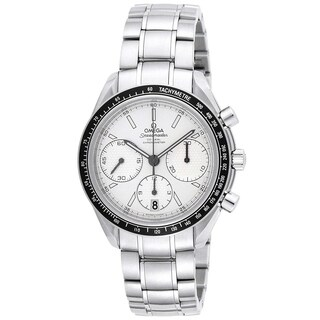Omega Men's 'Speedmaster' Racing Chronograph Automatic Stainless Steel Watch