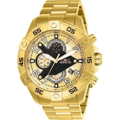 Invicta Men's 26098 'S1 Rally' Gold-Tone Stainless Steel Watch