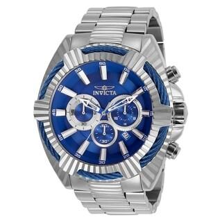 Invicta Men's 'Bolt' Speedway Stainless Steel Watch