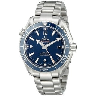 Omega Men's 'Seamaster Planet Ocean' Automatic Titanium Watch