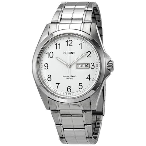 Orient Men's FUG1H002W6 'Contemporary' Stainless Steel Watch