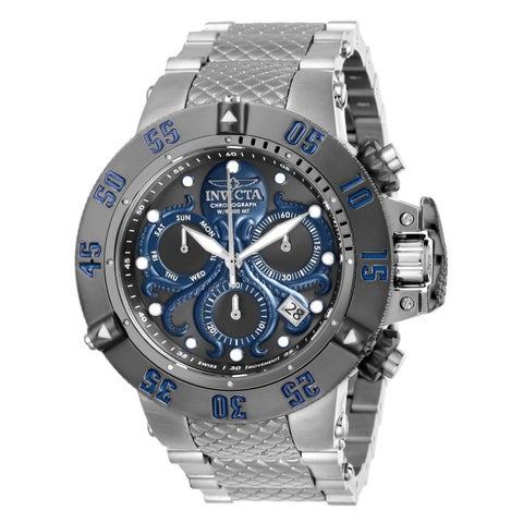 Invicta Men's 'Subaqua' Stainless Steel Watch