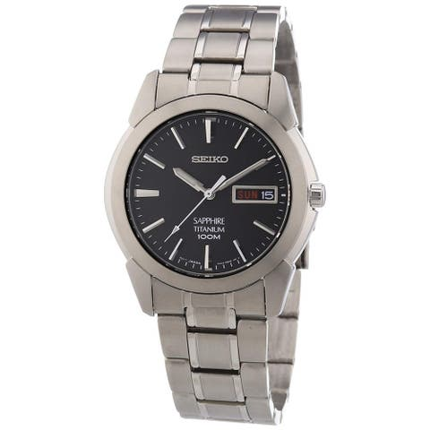 Seiko Men's Titanium Watch